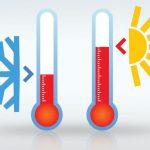 Cambio de temperatura