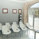 Sala espera Quiropractic Alicante